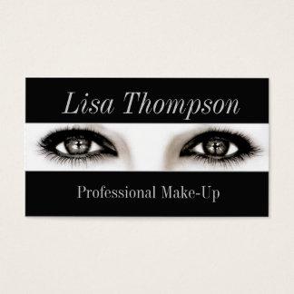 Cartes De Visite Artiste de maquillage professionnel/yeux modèles