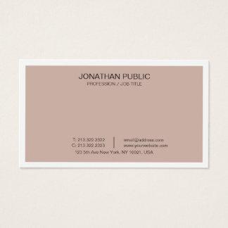 Cartes De Visite Artistique moderne de conception élégante