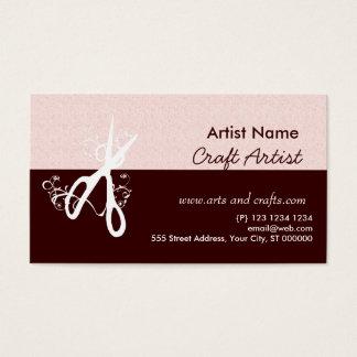 Cartes De Visite Arts et métiers classiques d'artiste