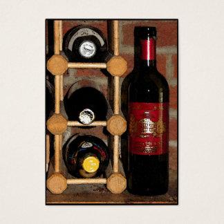 Cartes De Visite ATC de bouteilles de vin