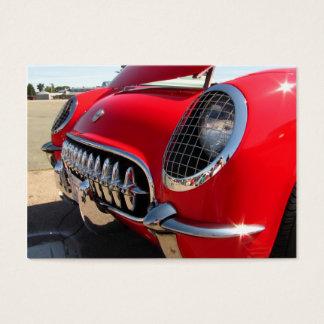 Cartes De Visite ATC rouge de ~ de Corvette