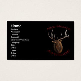 Cartes De Visite Attitude du Nouveau Mexique