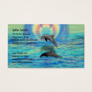Cartes De Visite Augmentation de dauphin