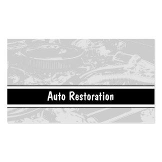 Cartes de visite automatiques de restauration cartes de visite professionnelles