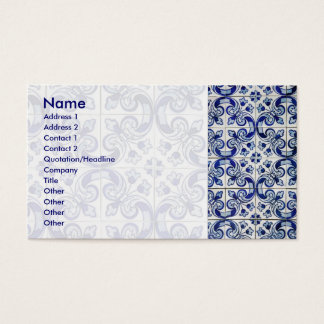 Cartes De Visite Azulejo