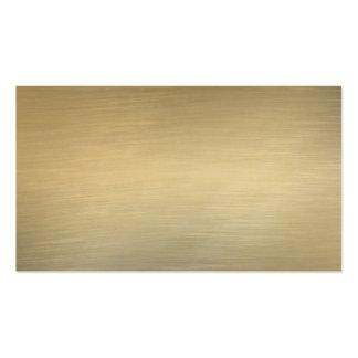 Cartes de visite balayés d or