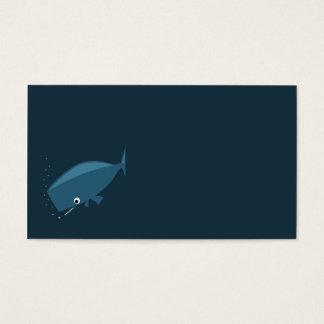 Cartes De Visite Baleine simple