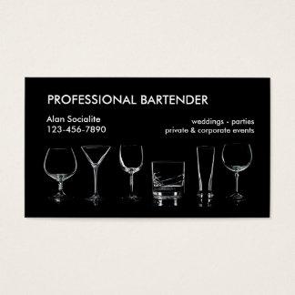 Cartes De Visite Barman professionnel