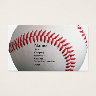 Cartes De Visite Base-ball