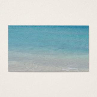 Cartes De Visite Beaux Turcs de la plage | et photo de la Caïques