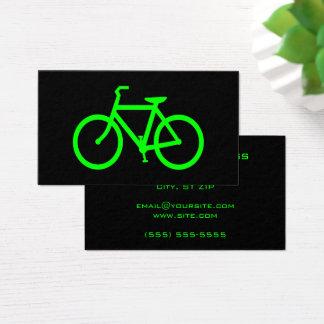 Cartes De Visite Bicyclette de chaux