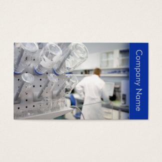 Cartes De Visite Biotechnologie/laboratoire chimiste de chercheur