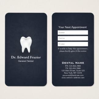 Fabuleux Cartes de visite Dentiste personnalisées | Zazzle.fr LT66