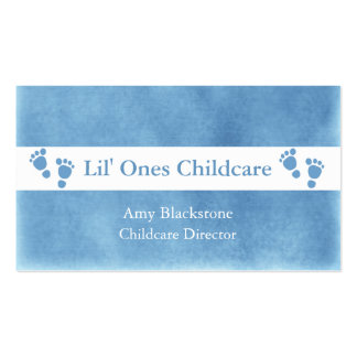 Cartes de visite bleus et blancs d empreintes de p cartes de visite professionnelles