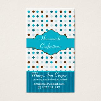 Cartes De Visite Bleus layette de bonbon