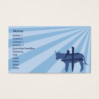 Cartes De Visite Boeuf - affaires
