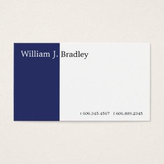 Cartes De Visite Boîte bleue