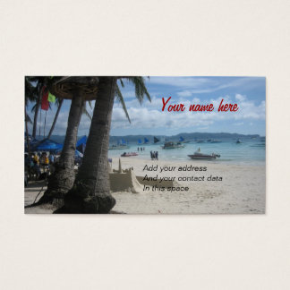 Cartes De Visite Boracay