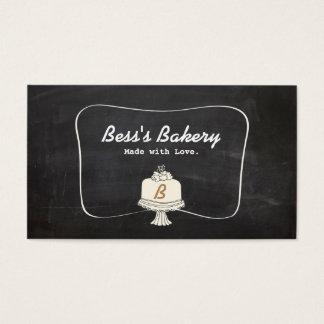 Cartes De Visite Boulangerie mignonne de Baker de décorateur de