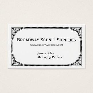 Cartes De Visite Broadway