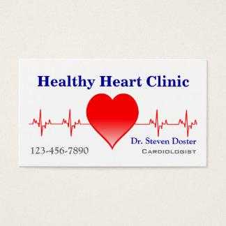 Cartes De Visite Cadiologist