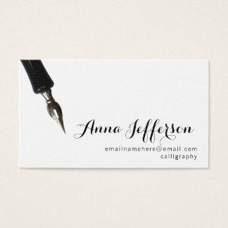 Cartes De Visite Calligraphie