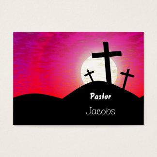Cartes De Visite Calvaire, pasteur, Jacobs