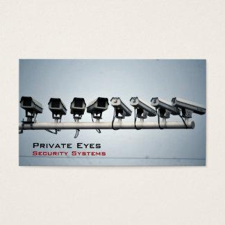 Cartes De Visite Caméras de sécurité