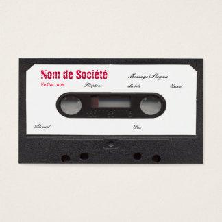 Cartes De Visite Cassette de visite!