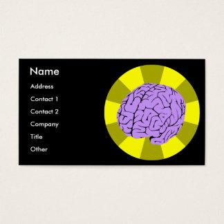Cartes De Visite Cerveau futé