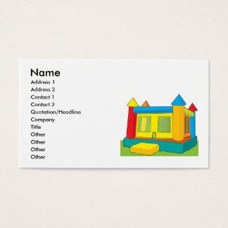 Cartes De Visite Château de rebond