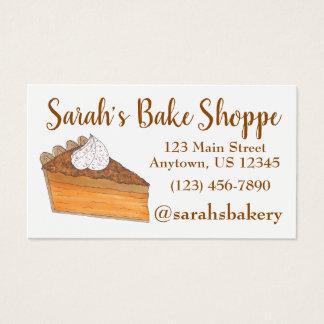 Cartes De Visite Chef de pâtisserie de Baker de boulangerie de