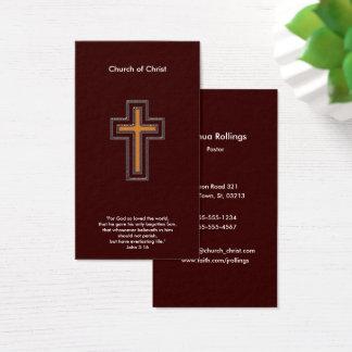Cartes De Visite Chrétien du 3:16 % pipe% de John