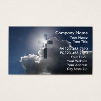 Cartes de visite chrétiens