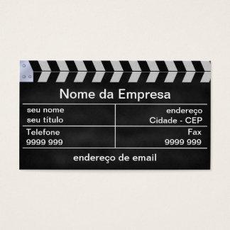 Cartes De Visite cinema clap