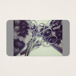 Cartes De Visite Cisaillements de coiffeur