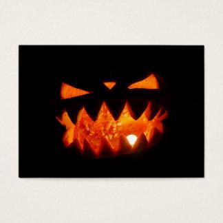 Cartes De Visite Citrouille de Halloween