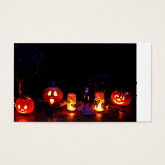 Cartes De Visite Citrouilles de Halloween