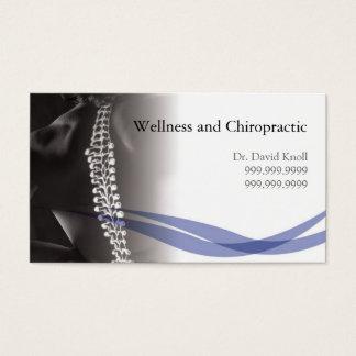 Cartes De Visite Clinique de santé de santé de chiropractie de