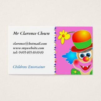 Cartes De Visite Clown
