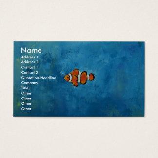 Cartes De Visite Clownfish