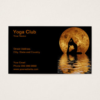 Cartes De Visite club de yoga