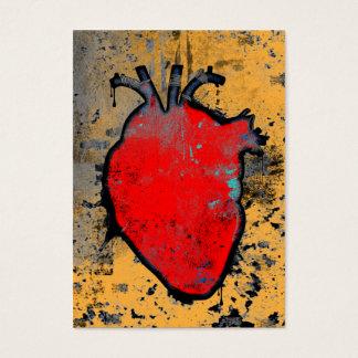 Cartes De Visite coeur anatomique
