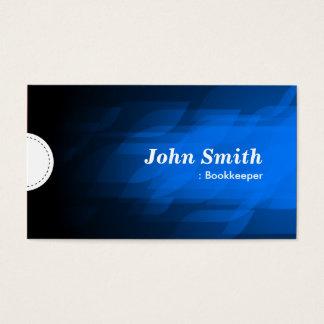 Cartes De Visite Comptable - bleu-foncé moderne
