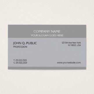 Cartes De Visite Conception artistique sophistiquée professionnelle