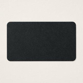 Cartes De Visite Conception classique minimaliste simple noire de