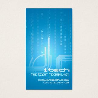 Cartes De Visite Conception de technologie
