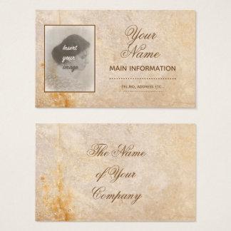 Cartes De Visite Conception vintage avec votre photo. Ajoutez votre