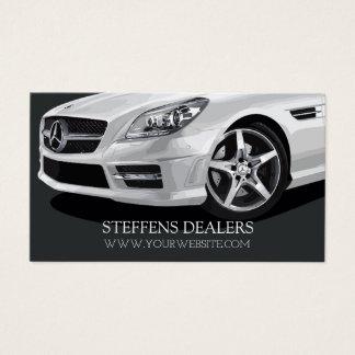 Cartes De Visite Concessionnaire automobile automatique moderne,