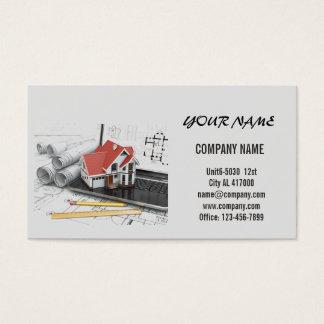 Cartes de visite r novation personnalis es for Carte visite construction
